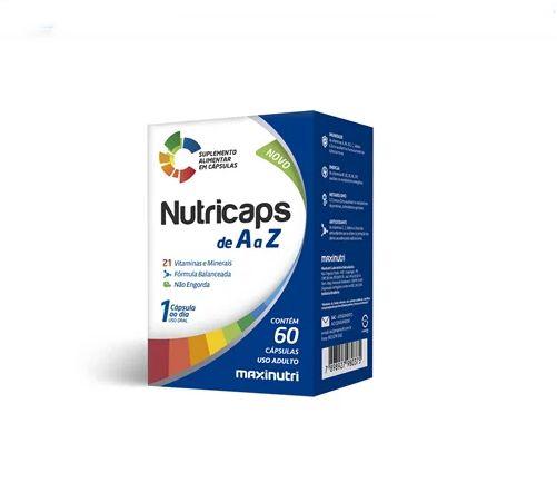 NUTRICAPS 60 CÁPSULAS - MAXINUTRI