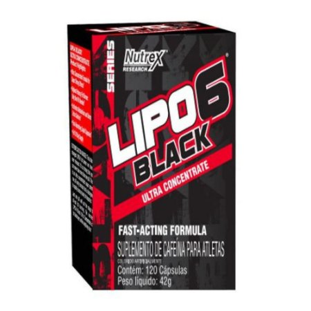 LIPO 6 BLACK ULTRA CONCENTRADO (120CAPS)