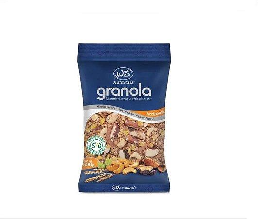 Granola Tradicional WS Naturais - 500g