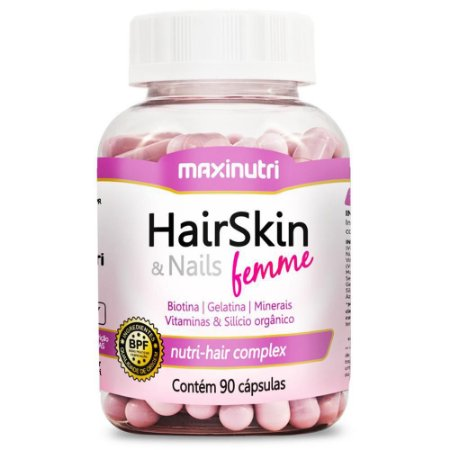 HAIRSKIN & NAILS FEMME - 90 CÁPSULAS