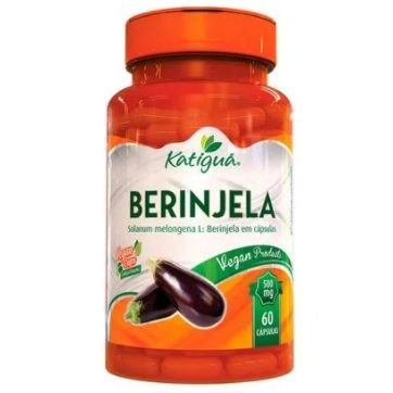 berinjela (500mg) 60 cápsulas vegetarianas - katiguá