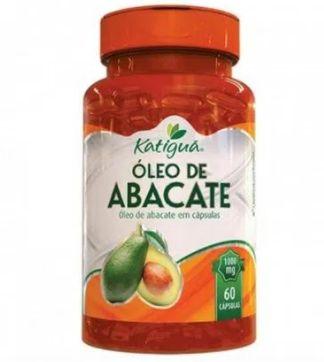 óleo de abacate (1000mg) 60 cápsulas