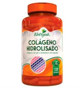 Colágeno hidrolisado (500mg) 120 cápsulas