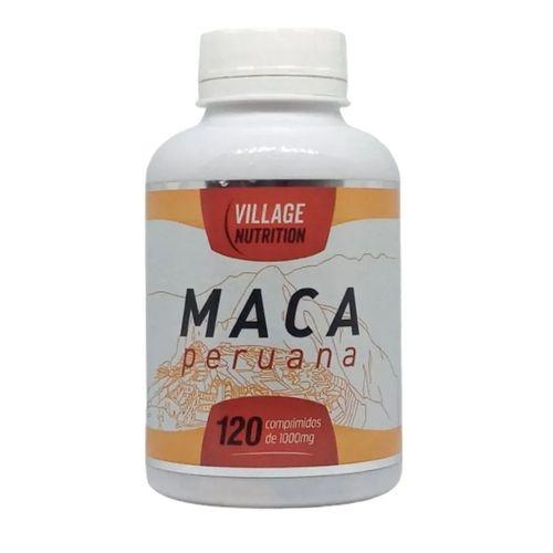 Maca Peruana 120 comprimidos 1000 mg Village Nutrition
