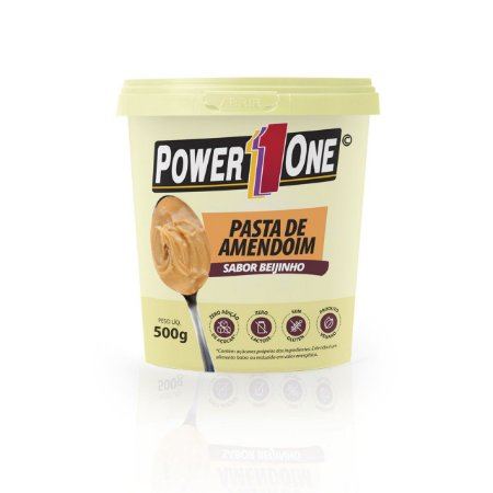 Pasta de amendoim sabor beijinho 500g