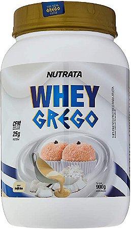 Whey Grego - 900g Beijinho - Nutrata