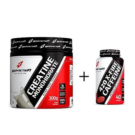 Creatine Monohydrate 300g + Cafeina 420mg