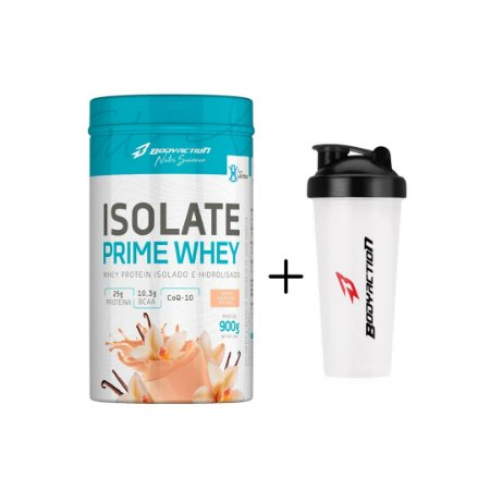 Isolate Prime Whey 900G + Coqueteleira 600ml