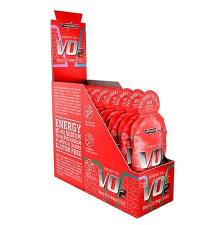 Vo2 Energy Gel - Frutas Vermelhas - 10un