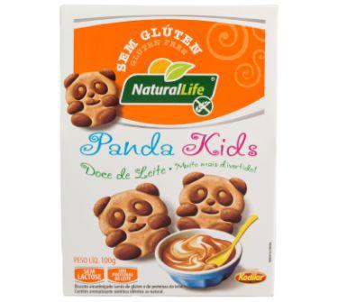 Biscoito Panda Kids  doce de leite Sem Glúten Sem Lactose 100g