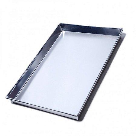 Assadeira Alumínio N°2 - 23x32x5 cm