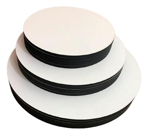 Cakeboard - Kit Com 10 Tábuas 25cm Mdf 3mm Sem Logo