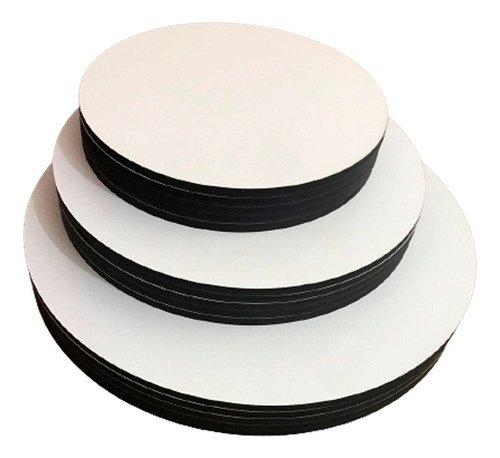 Cake board - Kit Com 10 Tábuas 35cm Mdf 3mm Sem Logo