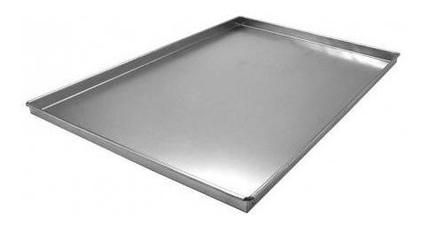 Kit 2 Assadeira Para Rocambole Em Alumínio 40x30x2
