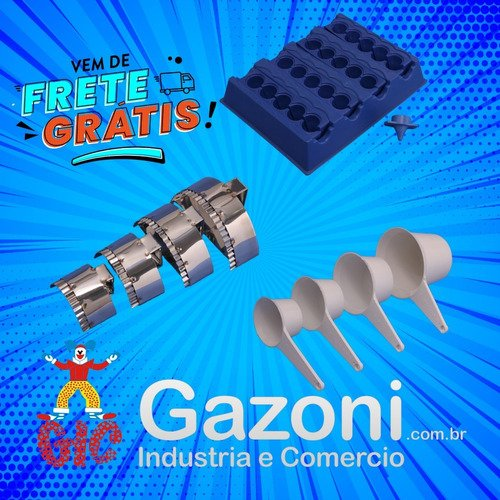 Kit Fabrica De Coxinha Pequena Cortador De Pastel Kit Medida