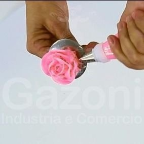 Kit Confeiteiro 26 Peças Bailarina.22 Bicos+adapt,+saco+rosa