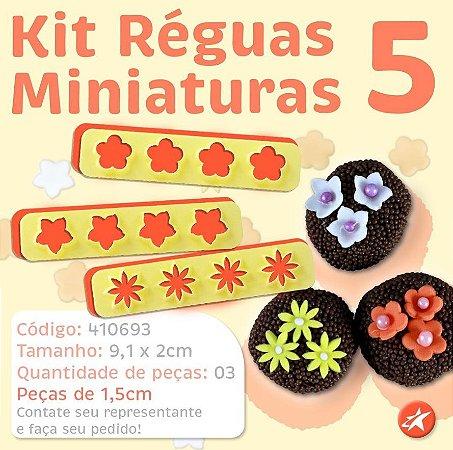 Kit Réguas Miniaturas 5