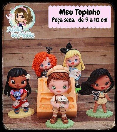 MOLDE MEU TOPINHO - MARIA DINIZ