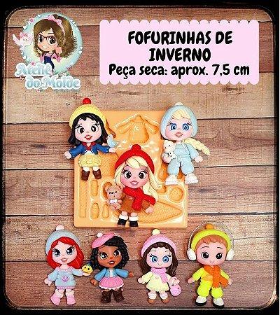 MOLDE FOFURINHAS DE INVERNO - MARIA DINIZ