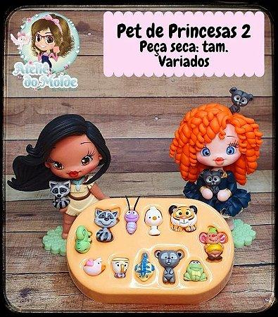 MOLDE PET DE PRINCESAS 2 - MARIA DINIZ
