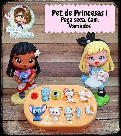 MOLDE PET DE PRINCESAS 1 - MARIA DINIZ