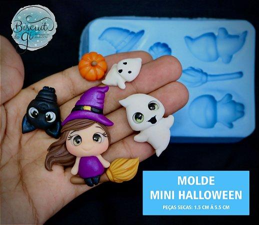 Molde Mini Halloween - Biscuit do Gi
