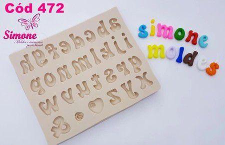 Molde Alfabeto Minúsculo P - cód.472