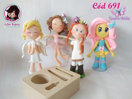 Molde Doce Doll