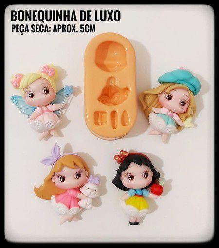 Molde Bonequinha de Luxo