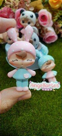 Molde Bonequinha - Angella Artes