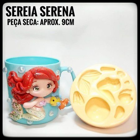Molde Sereia Serena