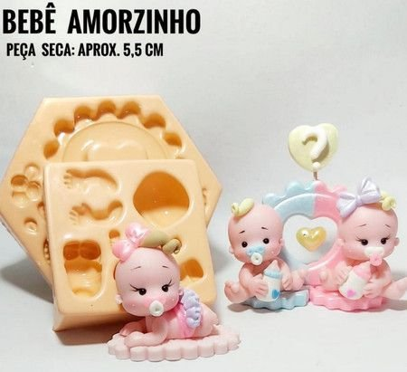 Molde Bebê Amorzinho