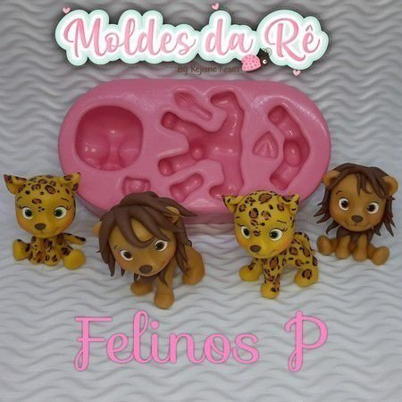Molde Felinos P