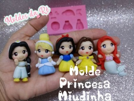 Molde Princesa Miudinha