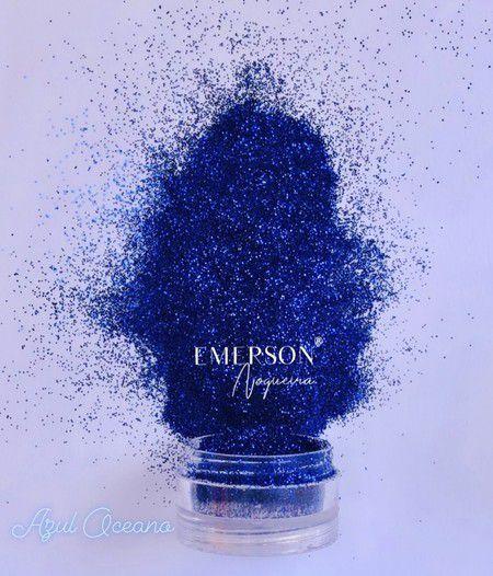 Glitter Azul Oceano