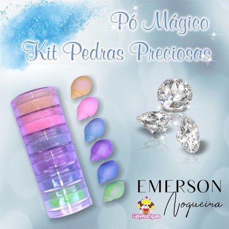 Kit Pedras Preciosas Opaco