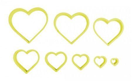 Cortador Coração Liso