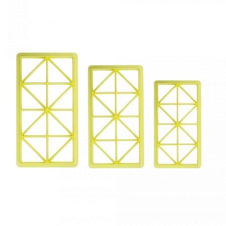 Cortador Geométrico Triângulo Retângulo