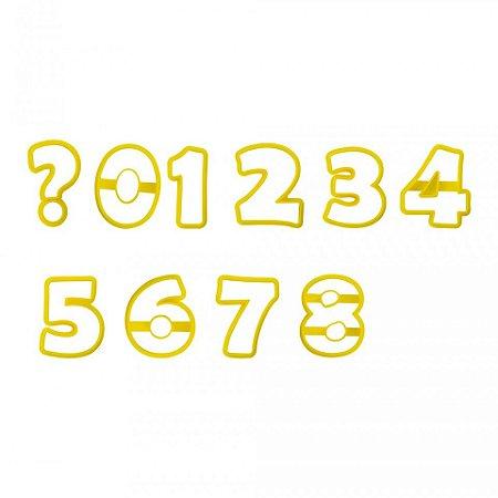 Cortador Números 8,5cm