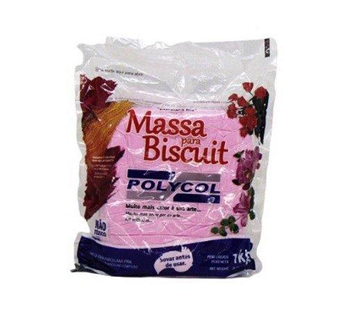 Massa para Biscuit - Rosa Suspiro