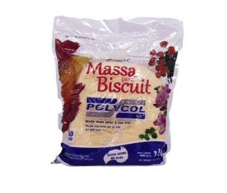 Massa para Biscuit - Casca de Laranja