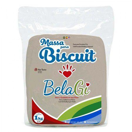 Massa para Biscuit - Pele Morena