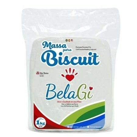 Massa para Biscuit - Natural