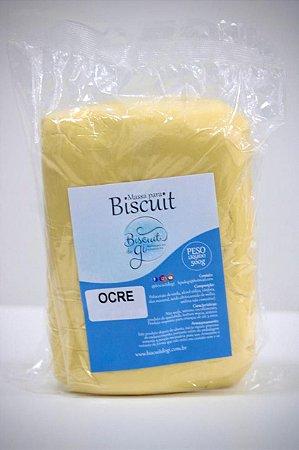 Massa para Biscuit - Ocre