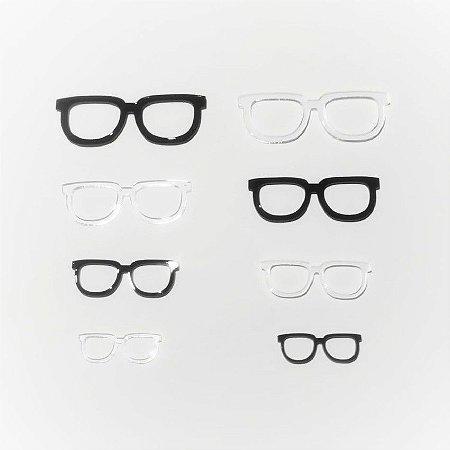 Óculos de Acrílico Modelo 06