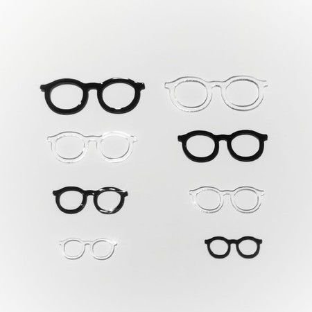 Óculos de Acrílico Modelo 05