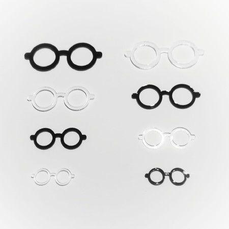 Óculos de Acrílico Modelo 01