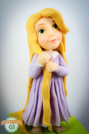 Aula Rapunzel Criança