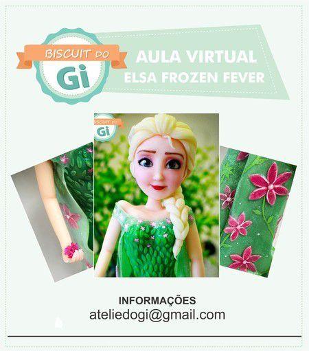 Aula Virtual Elsa Frozen Fever