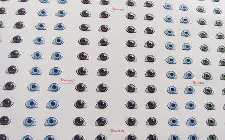 Olhos Adesivos Resinados Cód.527
